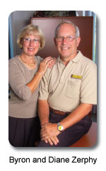 Bryon and Diane Zerphy of Solar Technology