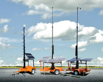 Solar-Powered Towers