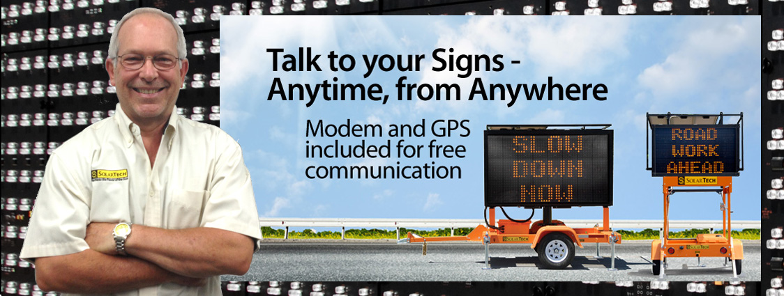 Talk to your Signs Anytime, from Anywhere
