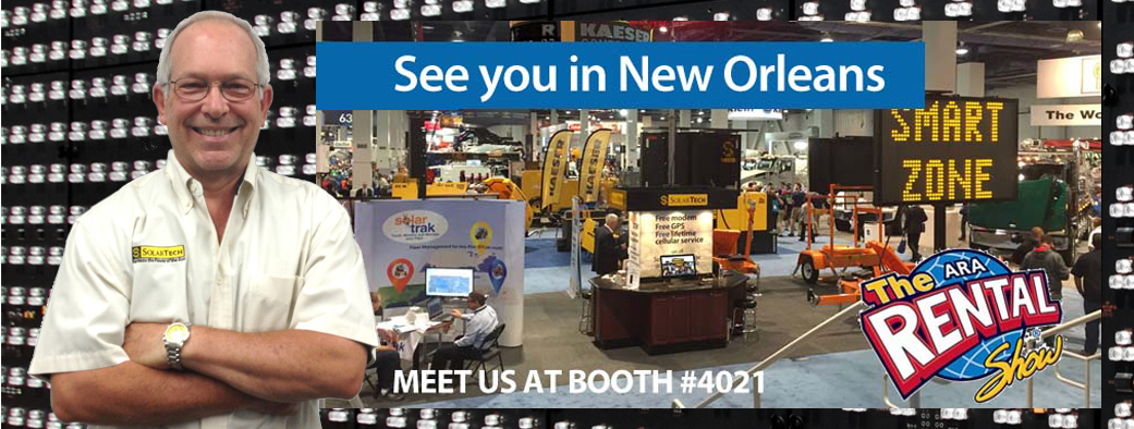 Stop by Booth #4021 at the ARA Rental Show